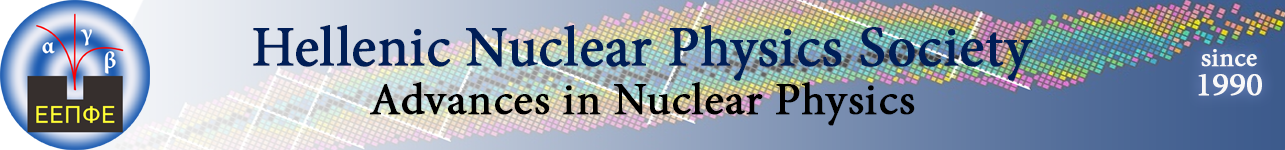 HNPS Advances in Nuclear Physics